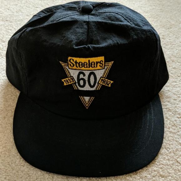 7adcb870 LIKE NEW Vintage Pittsburgh Steelers hat